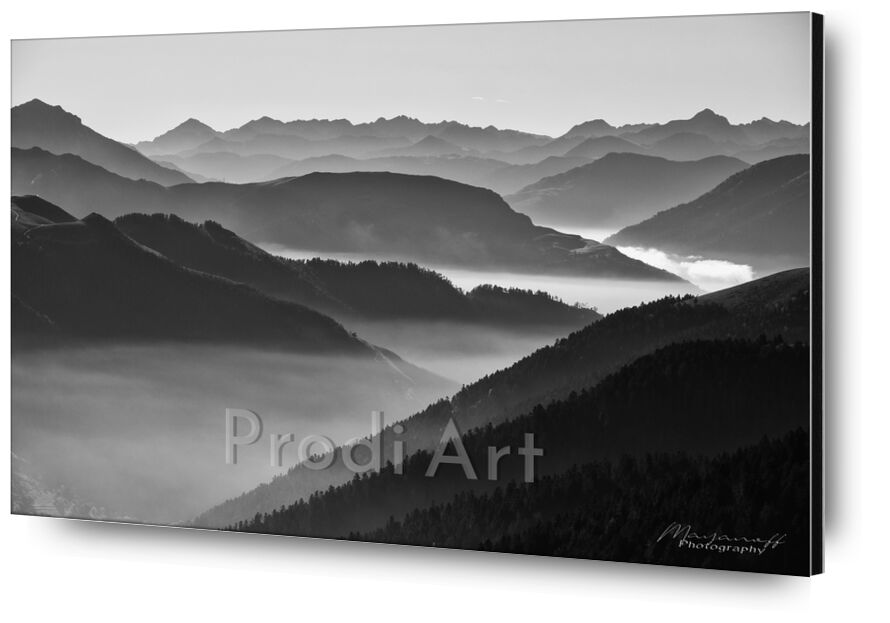 Morning mists from Mayanoff Photography, Prodi Art, nature, landscape, mountains, forest, fog, pic, peak, valleys, mists