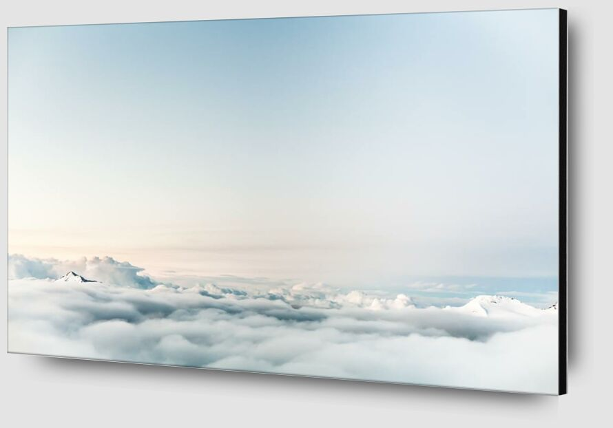 Over the clouds from Pierre Gaultier Zoom Alu Dibond Image