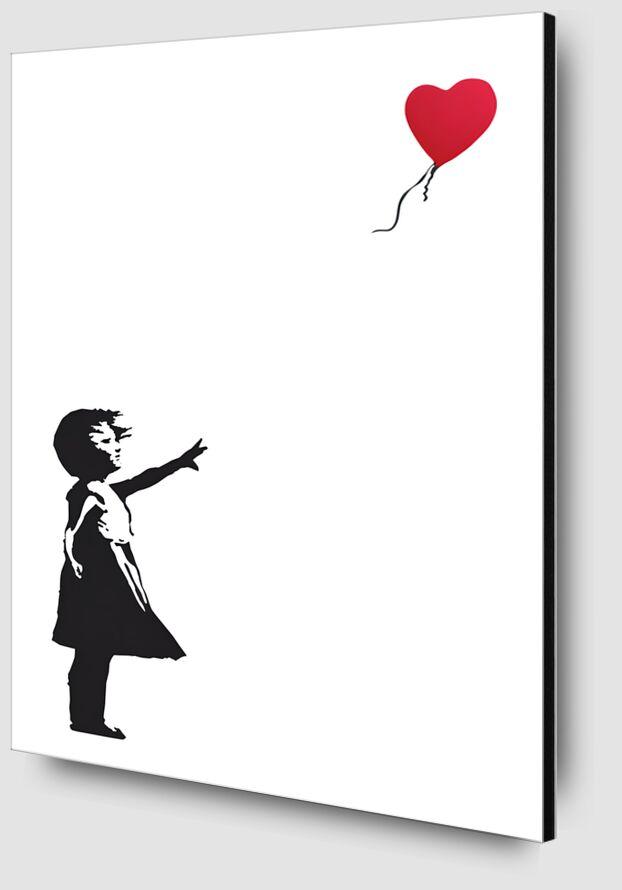 Balloon Girl - BANKSY from AUX BEAUX-ARTS Zoom Alu Dibond Image