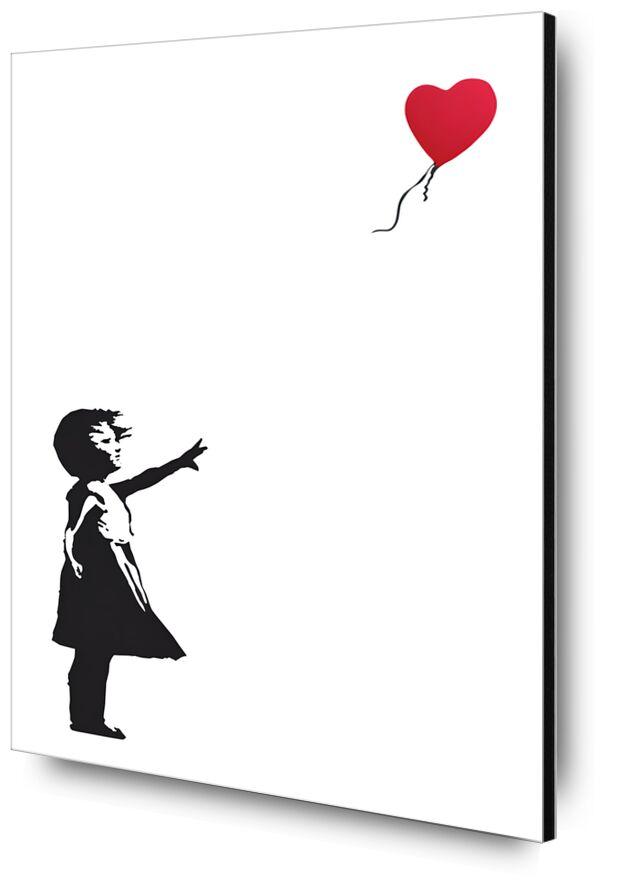 La Fille au Balon - BANKSY de AUX BEAUX-ARTS, Prodi Art, Banksy, fille, ballon, art de rue