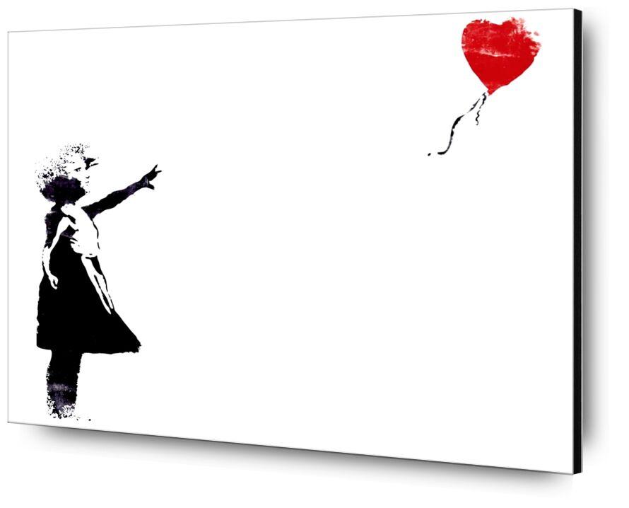Heart Balloon - BANKSY from AUX BEAUX-ARTS, Prodi Art, banksy, balloon, heart, girl, street art, graffiti, painted