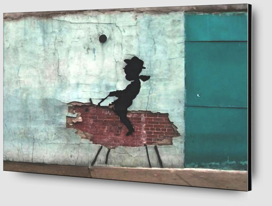 Pig - BANKSY desde AUX BEAUX-ARTS Zoom Alu Dibond Image
