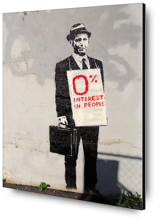 0% Interest - BANKSY from AUX BEAUX-ARTS, Prodi Art, banksy, people, graffiti, job, worker