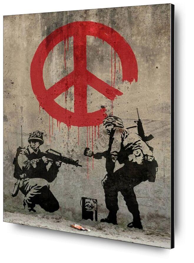 Peace - BANKSY desde AUX BEAUX-ARTS, Prodi Art, Banksy, paz, arte callejero, pintada