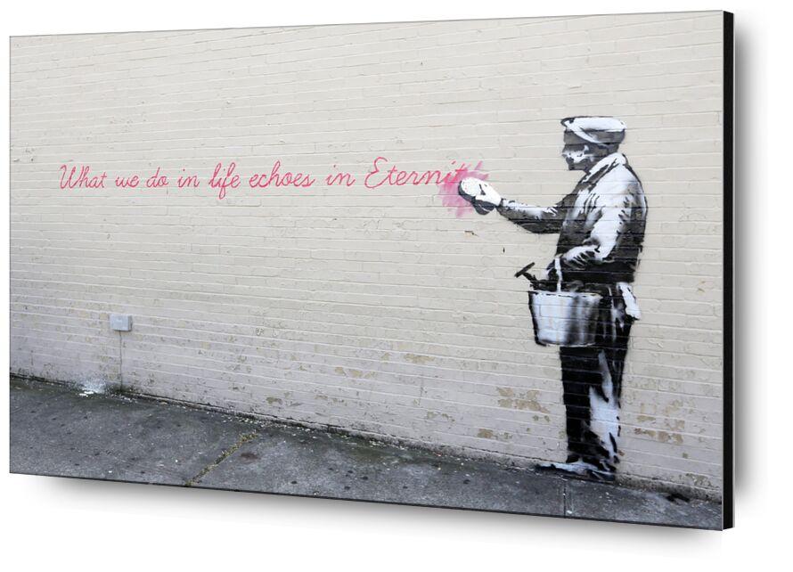 Echoes - BANKSY from AUX BEAUX-ARTS, Prodi Art, eternity, echoes, BANSKY, graffiti, street art