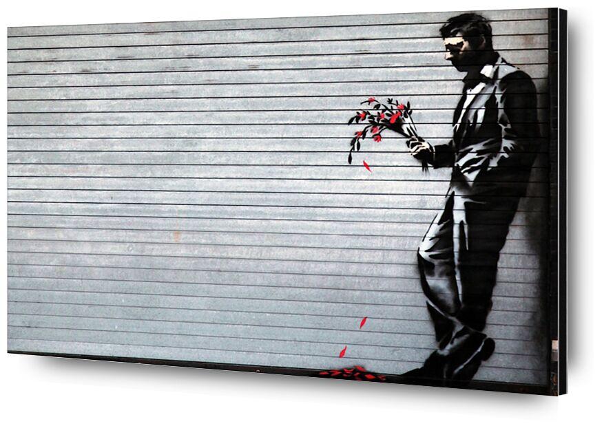 Hustler Club - BANKSY from AUX BEAUX-ARTS, Prodi Art, banksy, street art, night club, evening, match, flowers, night drink