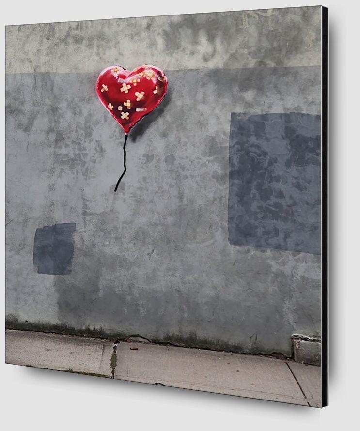 NY Love - BANKSY desde AUX BEAUX-ARTS Zoom Alu Dibond Image