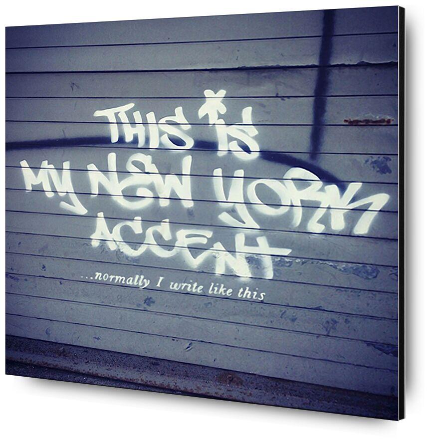 My New York Min - BANKSY desde AUX BEAUX-ARTS, Prodi Art, min, acento, arte callejero, Nueva York, Banksy