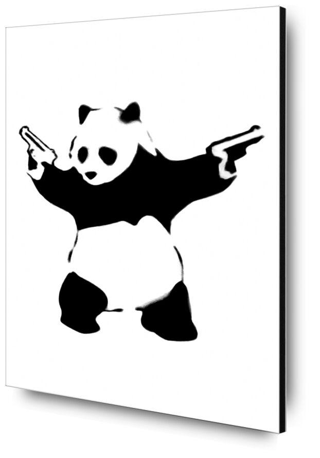 Pandamonium - BANKSY desde AUX BEAUX-ARTS, Prodi Art, Banksy, arte callejero, panda, armado, rebelión