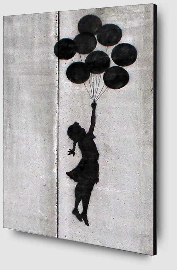 Balloon Girl - BANKSY desde AUX BEAUX-ARTS Zoom Alu Dibond Image