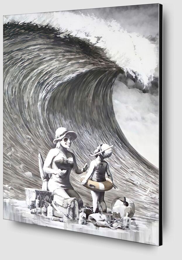 Dismal Beach - BANKSY from AUX BEAUX-ARTS Zoom Alu Dibond Image