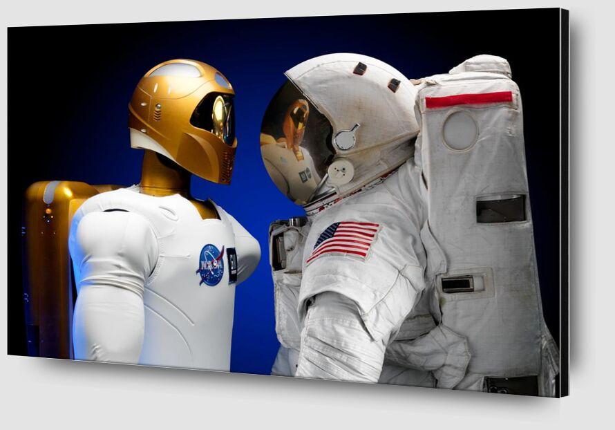 Cosmonauts from Pierre Gaultier Zoom Alu Dibond Image
