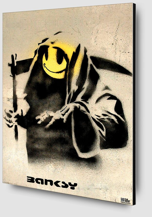 The Reaper - BANKSY from AUX BEAUX-ARTS Zoom Alu Dibond Image