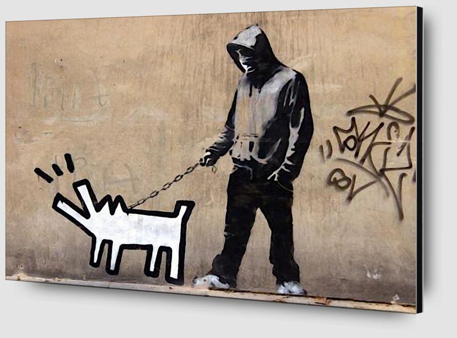 Dog - BANKSY from AUX BEAUX-ARTS Zoom Alu Dibond Image