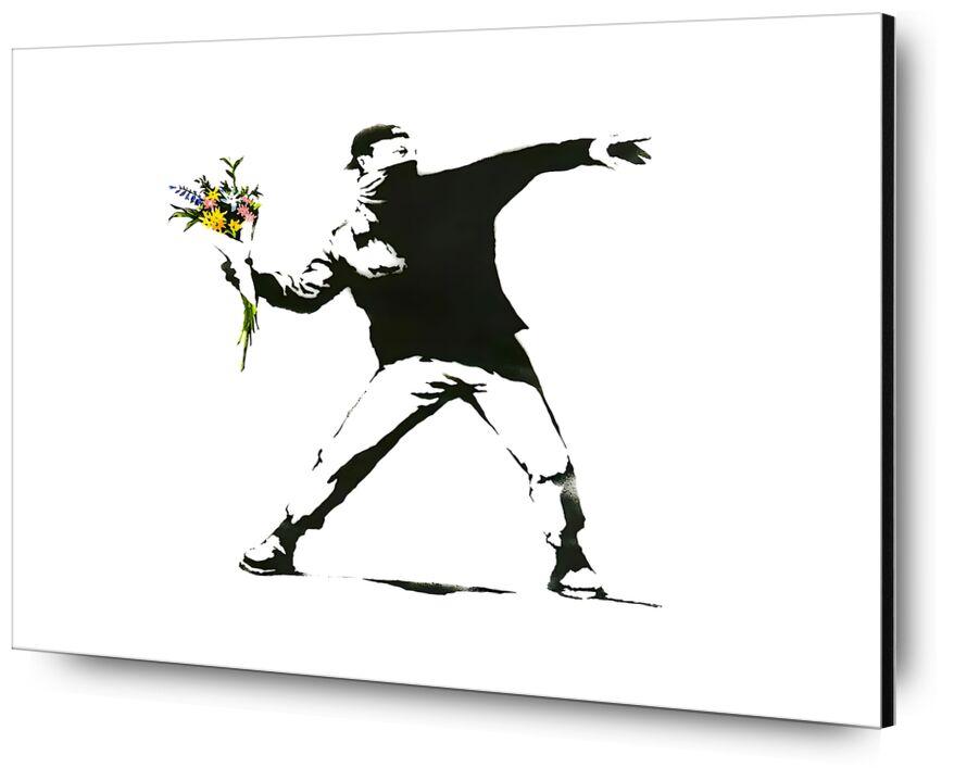 Flower Chucker - BANKSY from AUX BEAUX-ARTS, Prodi Art, banksy, street art, flower, graffiti, launcher