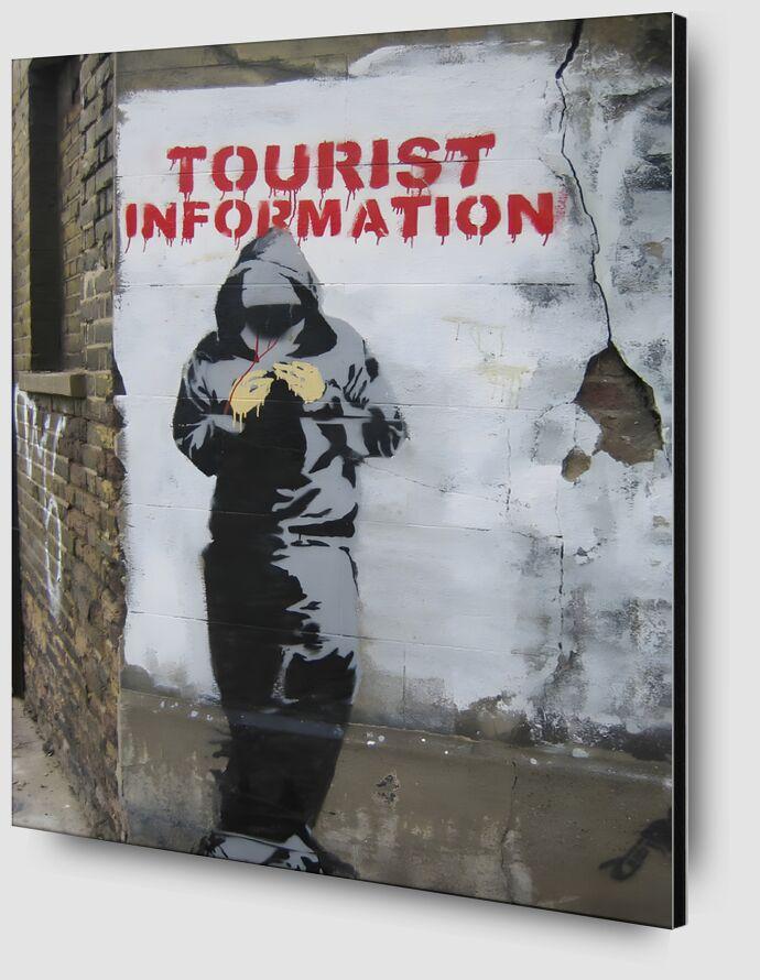 Tourist Information - BANKSY desde AUX BEAUX-ARTS Zoom Alu Dibond Image