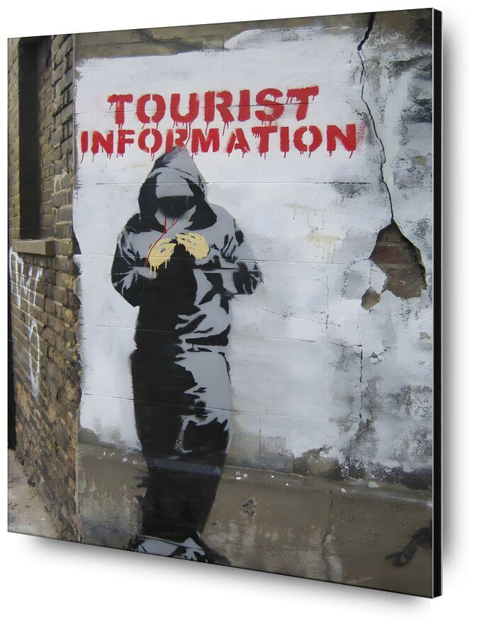 Tourist Information - BANKSY desde AUX BEAUX-ARTS, Prodi Art, Banksy, arte callejero, turismo, pared