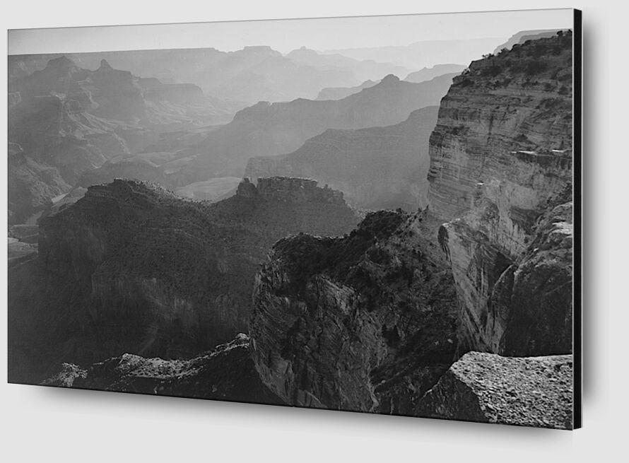"""Vue sur le """"Grand Canyon National Park"""" en Arizona - Ansel Adams from AUX BEAUX-ARTS Zoom Alu Dibond Image"""