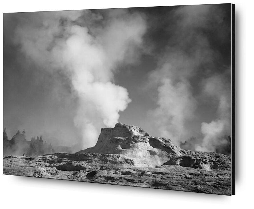 Castle Geyser Cove, Yellowstone - Ansel Adams desde AUX BEAUX-ARTS, Prodi Art, ANSEL ADAMS, Yellowstone, volcán, géiser