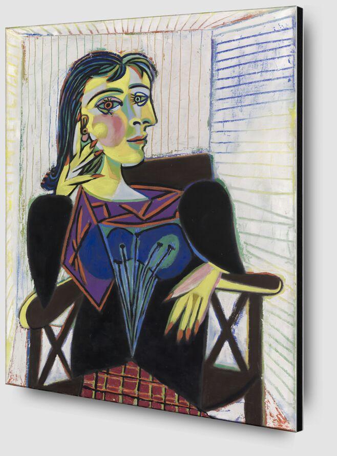 Portrait of Dora Maar - Picasso desde AUX BEAUX-ARTS Zoom Alu Dibond Image