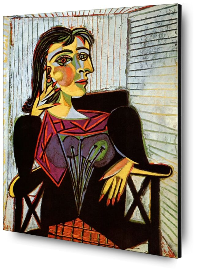 Portrait of Dora Maar - Picasso desde AUX BEAUX-ARTS, Prodi Art, picasso, pintura, retrato