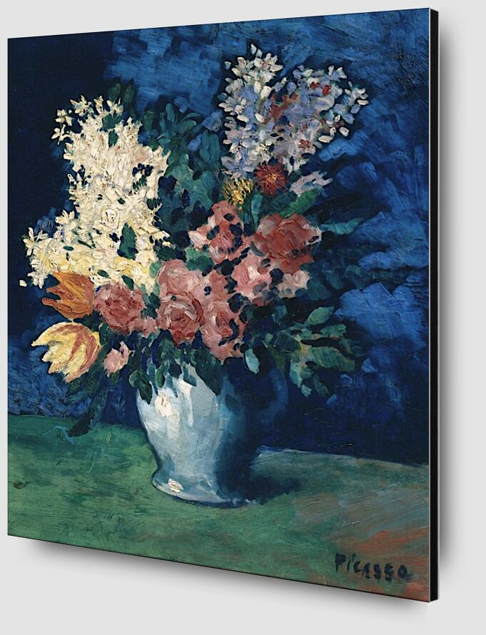 Flowers 1901 - Picasso from AUX BEAUX-ARTS Zoom Alu Dibond Image