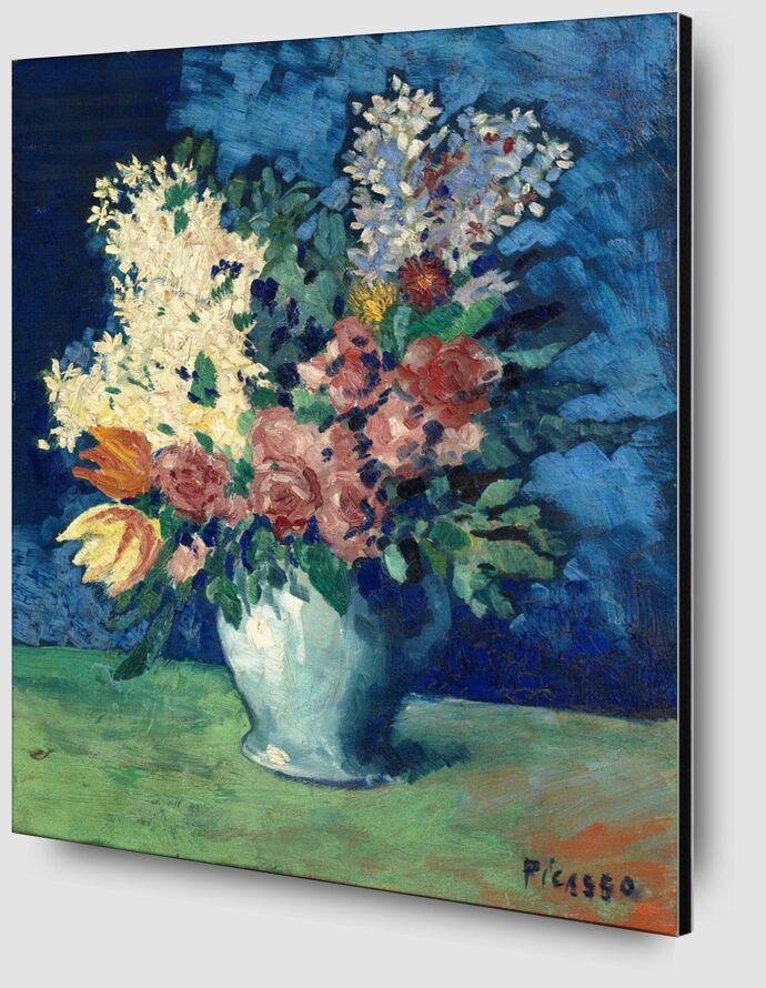 Flowers 1901 - Picasso desde AUX BEAUX-ARTS Zoom Alu Dibond Image