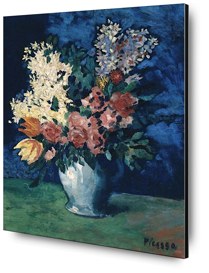 Flowers 1901 - Picasso from AUX BEAUX-ARTS, Prodi Art, picasso, flowers, painting