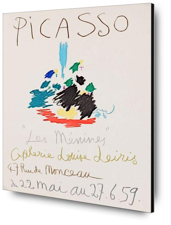 1959, Les Ménines - Picasso desde AUX BEAUX-ARTS, Prodi Art, póster, dibujo a lápiz, dibujo, picasso