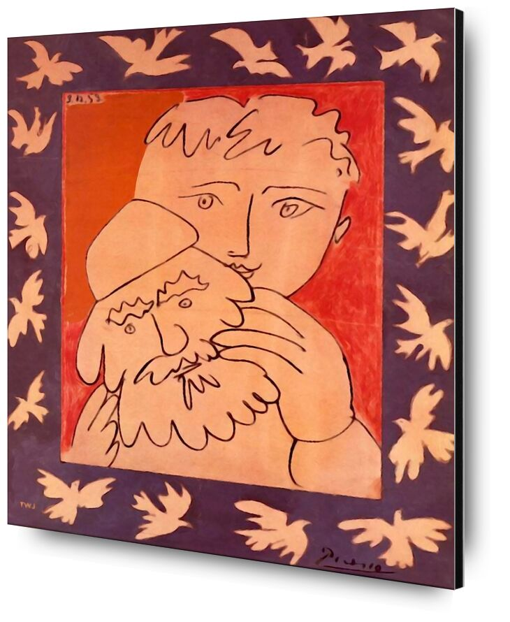 New Year - Picasso from AUX BEAUX-ARTS, Prodi Art, picasso, painting, abstract, new Year