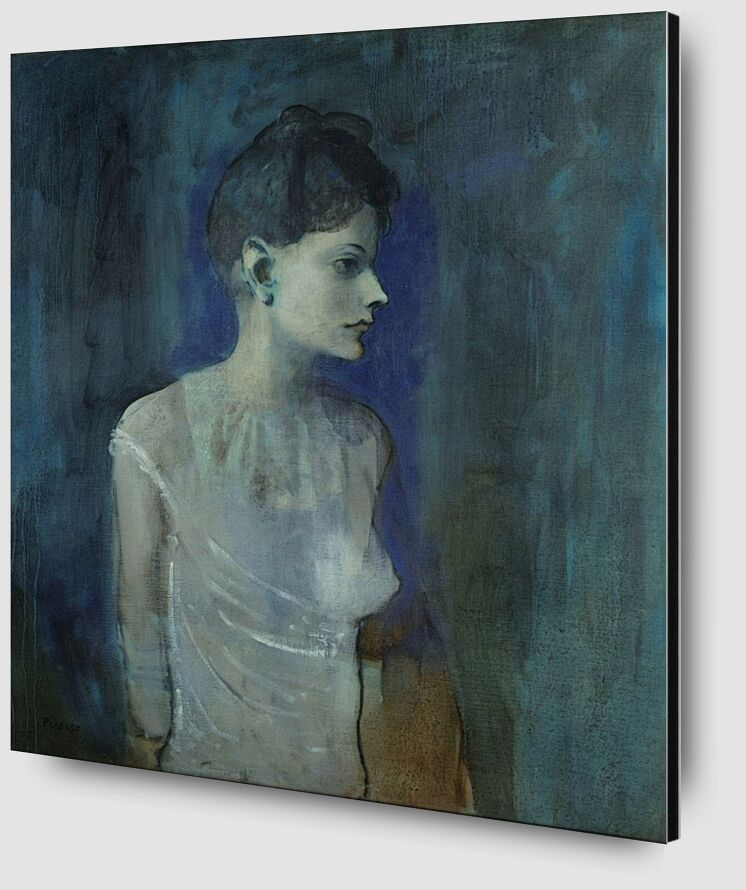 Girl in a Chemise - Picasso desde AUX BEAUX-ARTS Zoom Alu Dibond Image