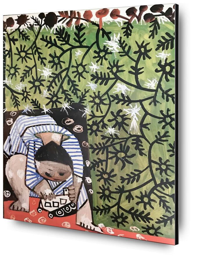 Playing Child - Picasso desde AUX BEAUX-ARTS, Prodi Art, abstracto, niño, pintura, picasso