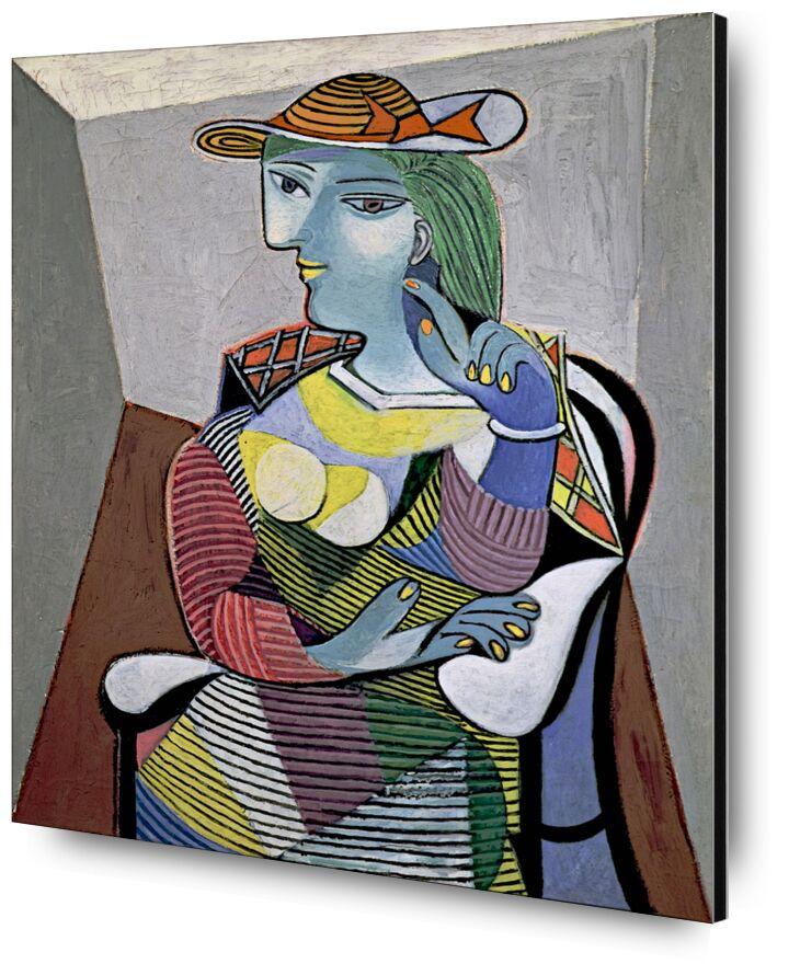 Portrait of Marie-Therese - Picasso desde AUX BEAUX-ARTS, Prodi Art, picasso, retrato, abstracto, pintura