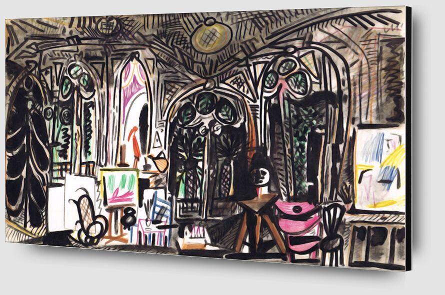 California Notebook 01 - Picasso desde AUX BEAUX-ARTS Zoom Alu Dibond Image