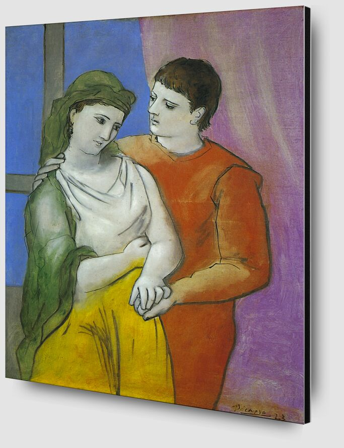 The Lovers - Picasso desde AUX BEAUX-ARTS Zoom Alu Dibond Image