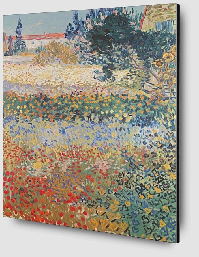 Garden in Bloom Arles - Van Gogh from AUX BEAUX-ARTS Zoom Alu Dibond Image
