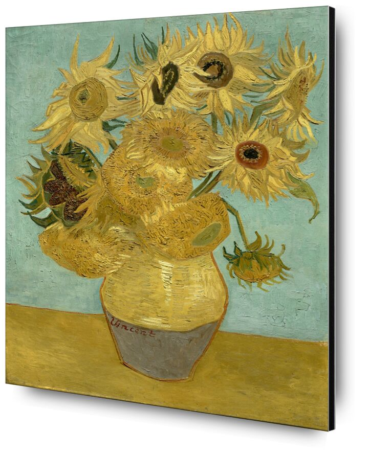 Sunflowers - Van Gogh desde AUX BEAUX-ARTS, Prodi Art, Van gogh, pintura, girasol