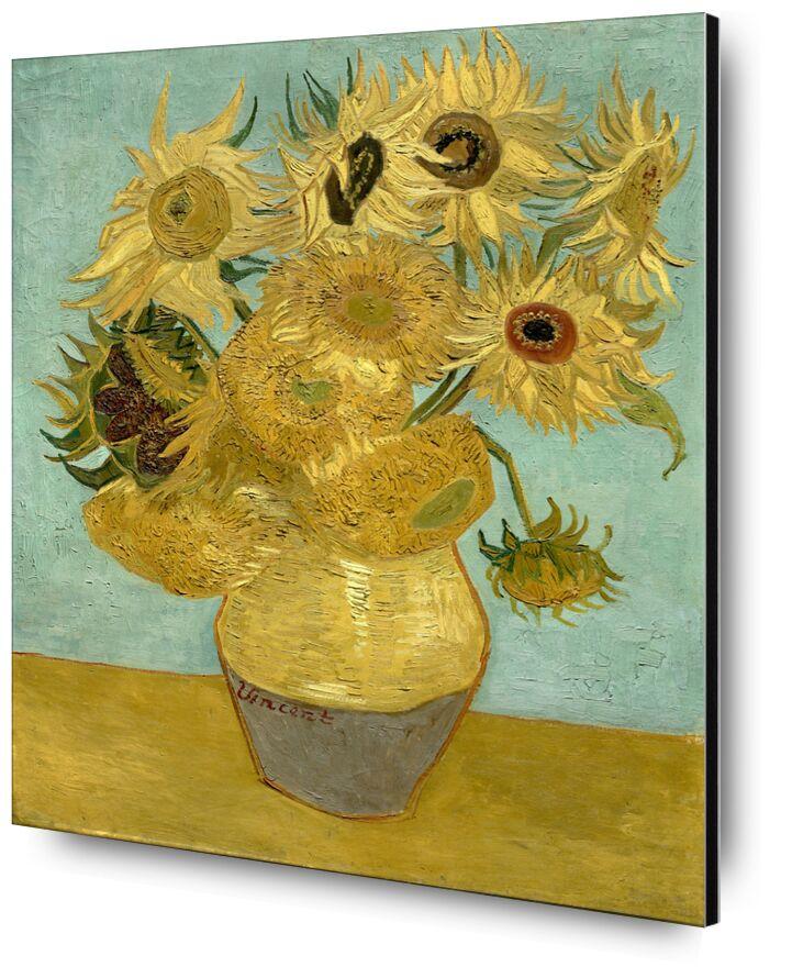 Sunflowers - Van Gogh from AUX BEAUX-ARTS, Prodi Art, sunflower, painting, Van gogh