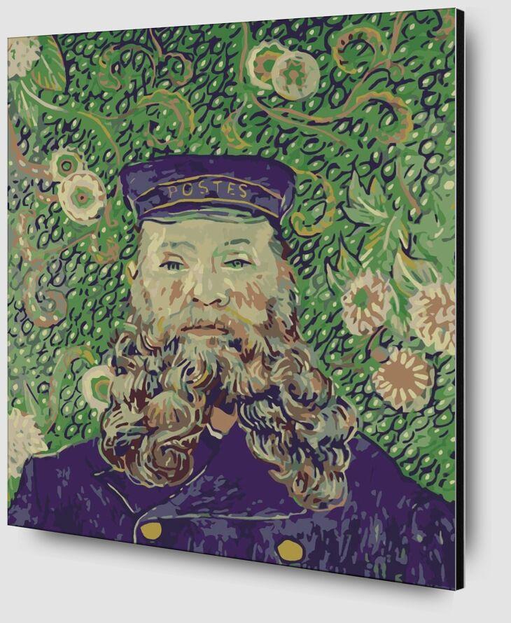 Portrait of the Postman Joseph Roulin - Van Gogh from AUX BEAUX-ARTS Zoom Alu Dibond Image