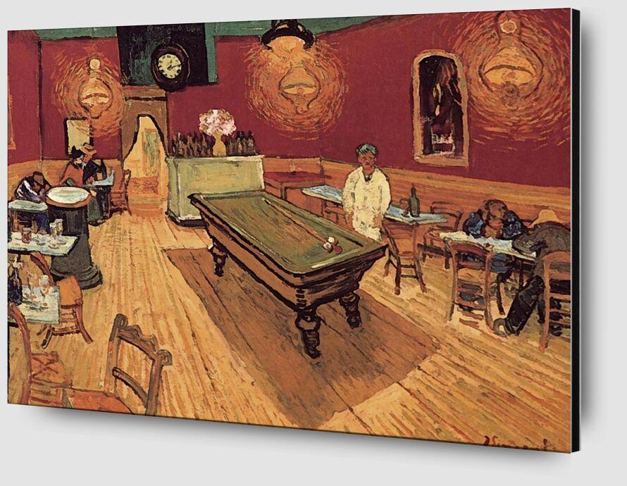 Night Cafe - Van Gogh desde AUX BEAUX-ARTS Zoom Alu Dibond Image