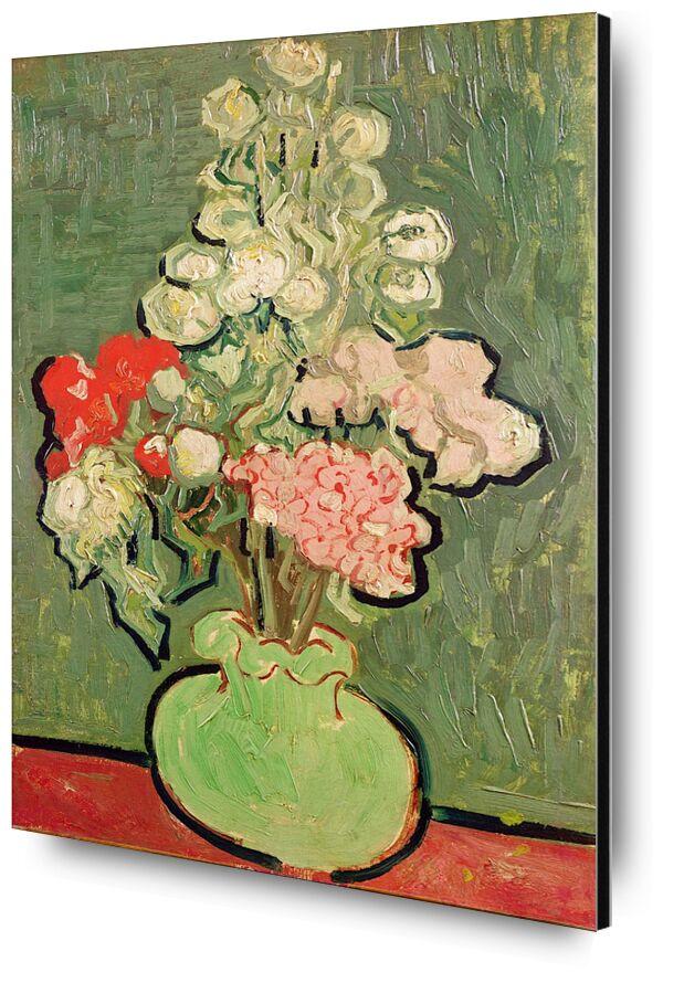 Bouquet of Flowers - Van Gogh from AUX BEAUX-ARTS, Prodi Art, Van gogh, still life, flowers, bunch, green