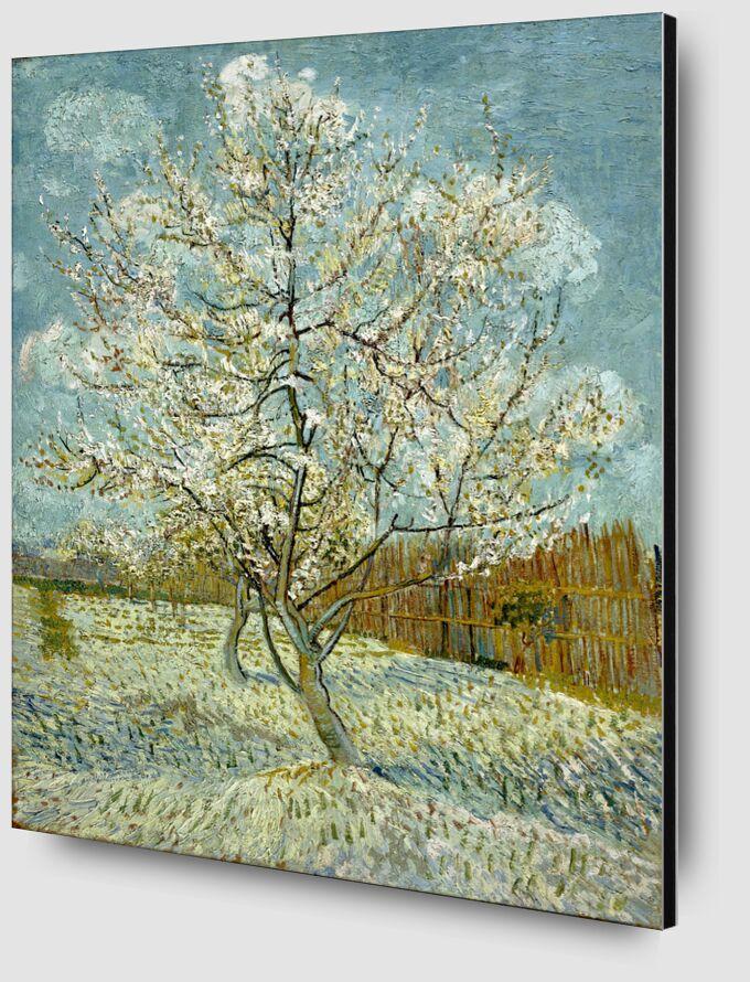 The Pink Peach Tree - Van Gogh desde AUX BEAUX-ARTS Zoom Alu Dibond Image