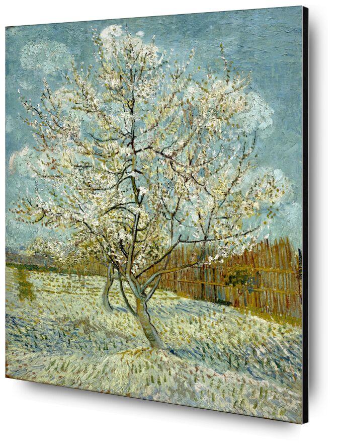 The Pink Peach Tree - Van Gogh desde AUX BEAUX-ARTS, Prodi Art, Van gogh, pintura, árbol, naturaleza