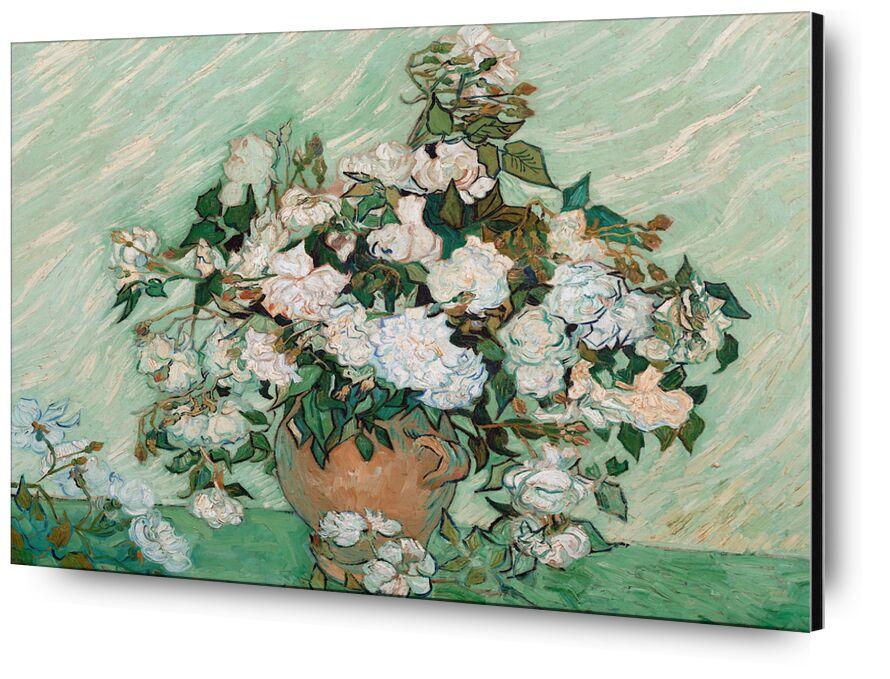 Roses - Van Gogh from AUX BEAUX-ARTS, Prodi Art, Van gogh, painting, roses, still life