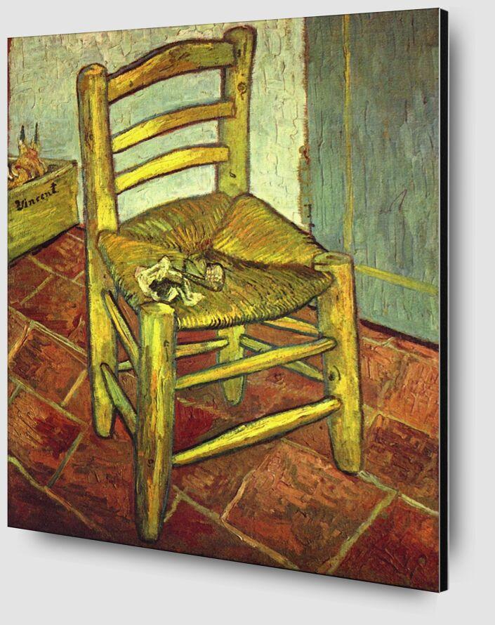 Chair - Van Gogh desde AUX BEAUX-ARTS Zoom Alu Dibond Image