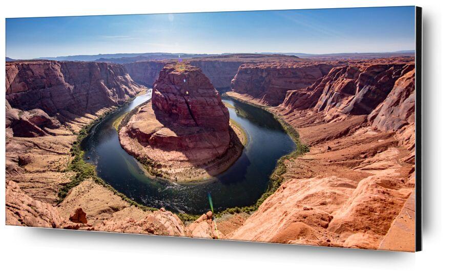 Fer à cheval de Emilie Tournier, Prodi Art, Arizona, états-unis, courbure en fer à cheval, USA, paysage, rivière, AZ, Amérique du Nord, Rivière Colorado