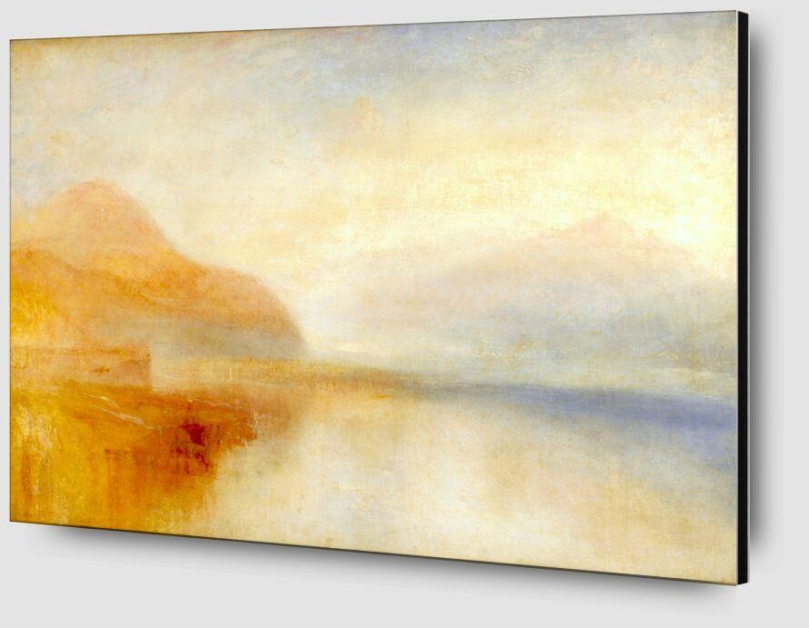 Quai d'Inversion, Loch Fyne, Matin - TURNER de AUX BEAUX-ARTS Zoom Alu Dibond Image