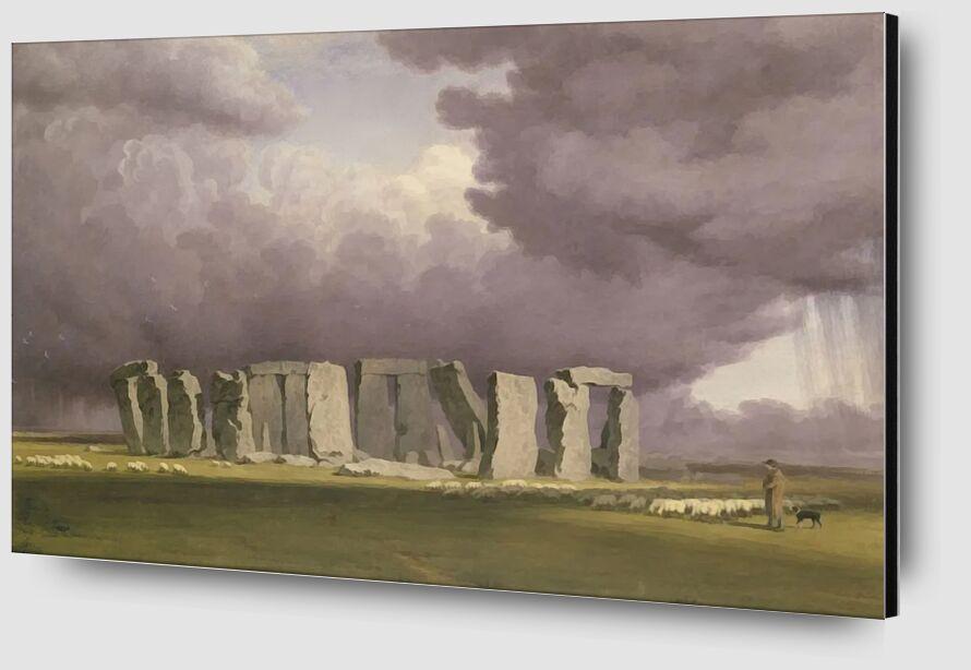 Stonehenge: Stormy Day desde AUX BEAUX-ARTS Zoom Alu Dibond Image