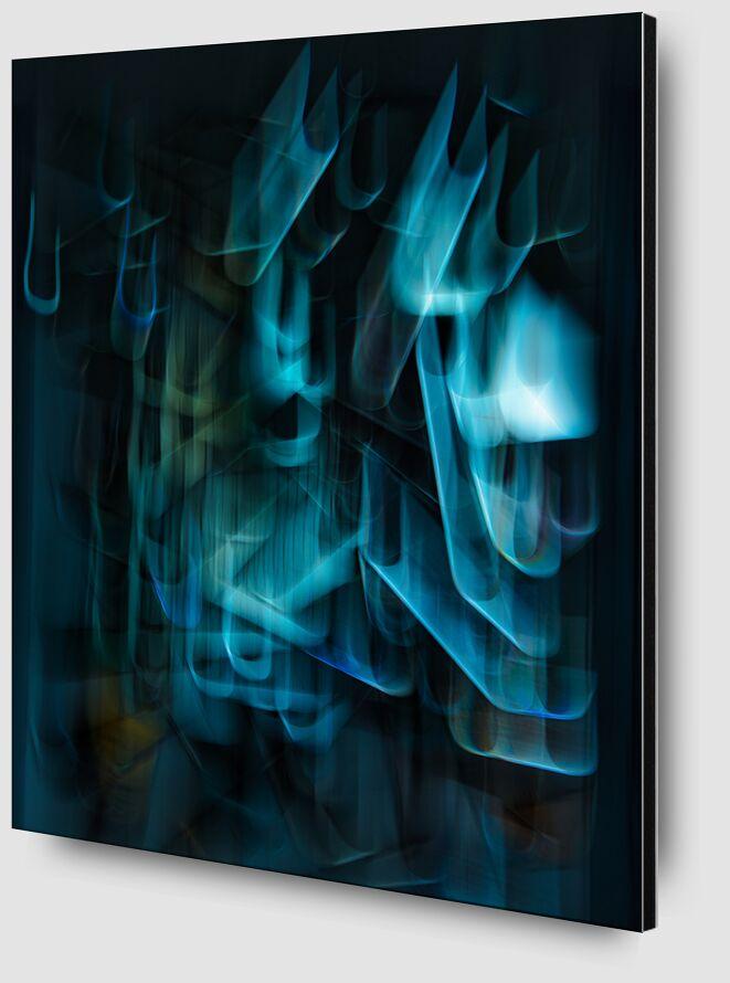 Les bouts de miroir de Céline Pivoine Eyes Zoom Alu Dibond Image