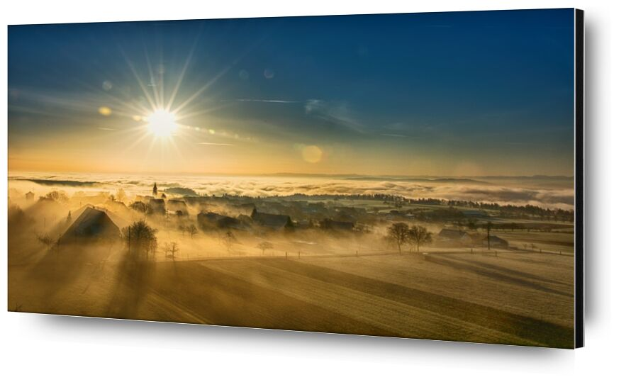 Winter Fog from Pierre Gaultier, Prodi Art, landscape, fog, mood, sunrise, coloring, autumn, nature